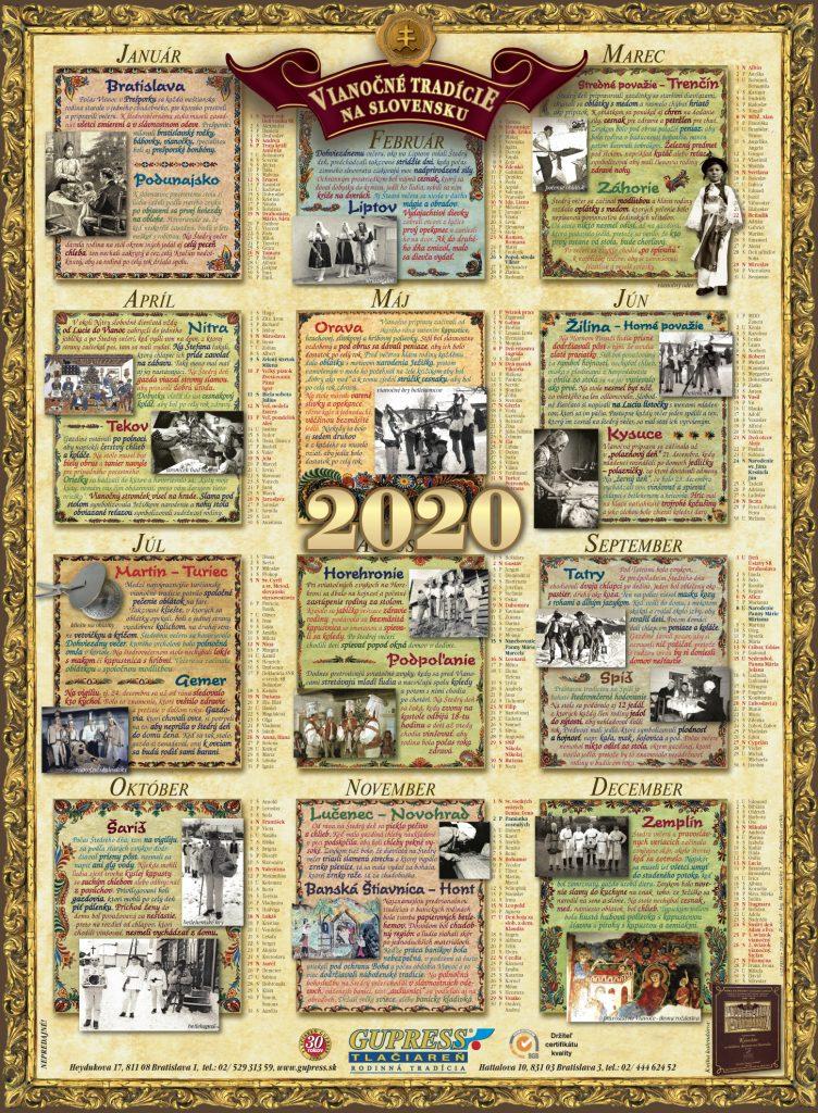 GUPRESS kalendar 2020